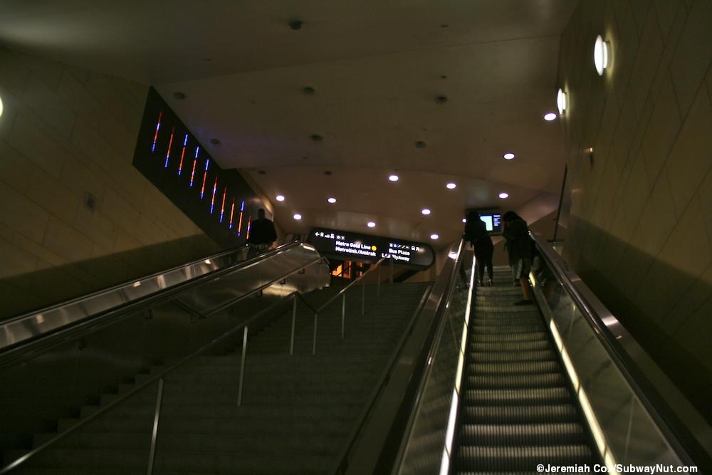 Union Station La Metro Red Amp Purple Line The Subwaynut