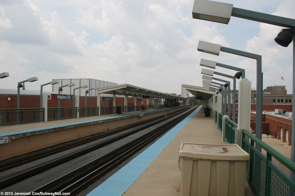 halsted cta green line photos page 3 the subwaynut. Black Bedroom Furniture Sets. Home Design Ideas