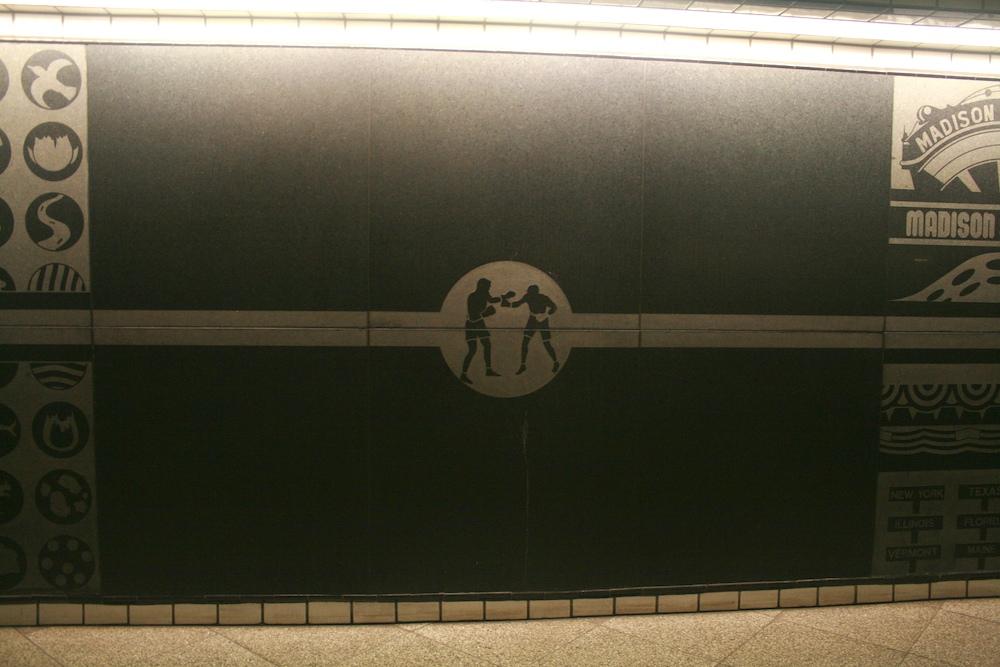 Madison Square Garden: 50 Street/8 Avenue Downtown Side (C,E)